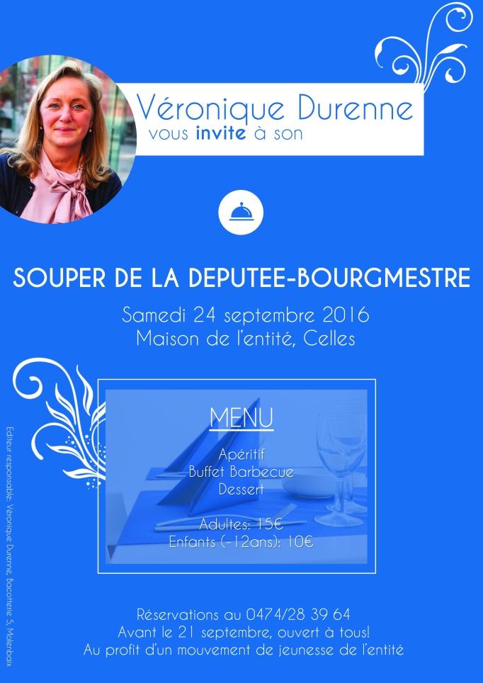 Invitation souper Septembre - A3